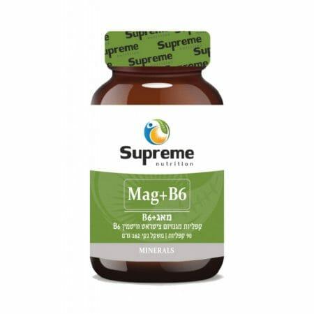 מגנזיום ציטראט + B6